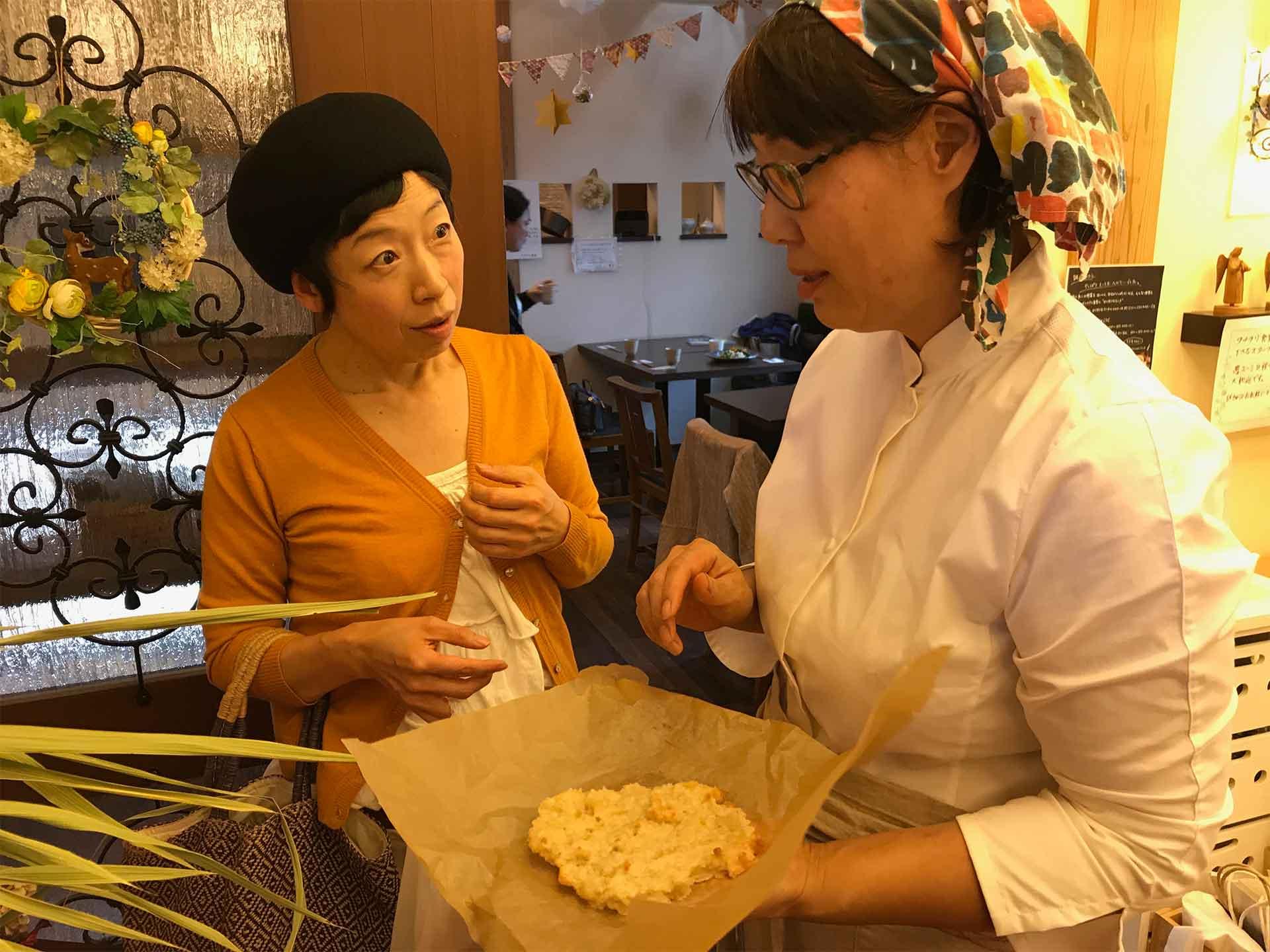 料理家本道佳子さんと