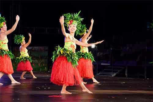kana at Tahiti